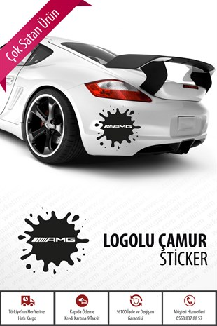 Amg Çamur Sticker