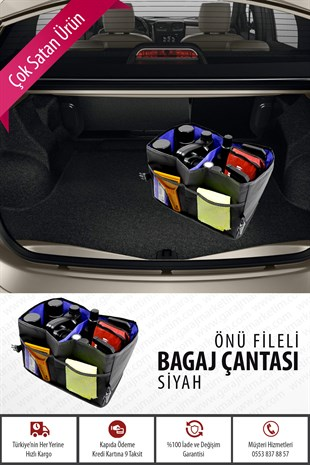 Önü Fileli Bagaj Çanta